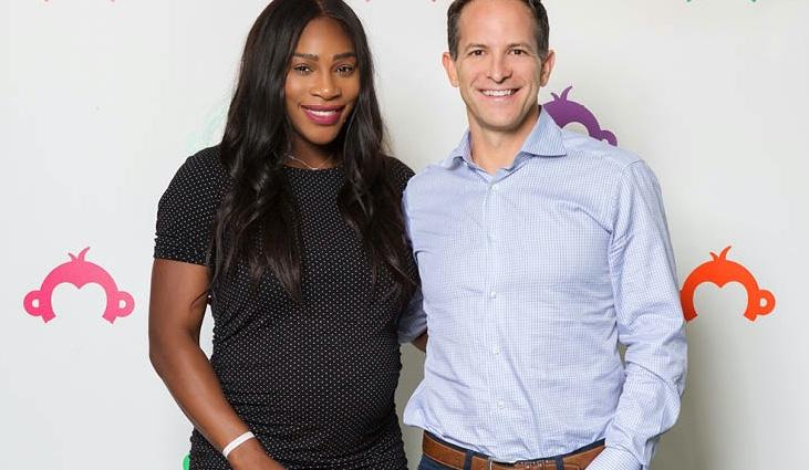 Serena Williams and Zander Lurie